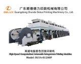 Máquina de impressão automática cheia de alta velocidade do Rotogravure de Shaftless (DLYA-81200P)