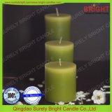 クラフトの蝋燭の層にされた柱の蝋燭