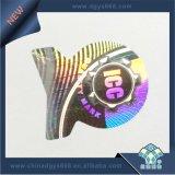 Autoadhesivo etiqueta Holograma Efecto Arco iris