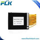 Árvore de modo simples e Star Fbt Acoplador de fibra de Cone Biconic Divisor para FTTH FTTX PON CATV LAN