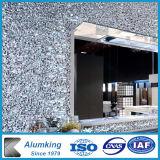 Gomma piuma di alluminio materiale della decorazione di alluminio