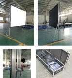 Высокое качество 200-дюймовый портативный проектор быстрого складывания экрана для использования вне помещений