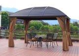 명반 금속 지붕 전망대 옥외 큰 천막 정원 전망대