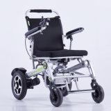 Ligero 24V 200W de potencia plegables eléctricas Silla de Ruedas para ancianos