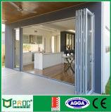 Portello di piegatura di alluminio standard australiano della Bi con il prezzo poco costoso