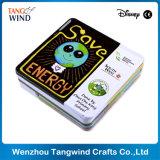Custom Tin Box Coaster, libre Muestra Aleatoria está disponible