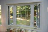Ventana de aluminio de la rotura termal de Woodwin con el vidrio doble