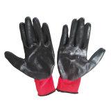 Нитриловые перчатки рабочие системы обеспечения безопасности с покрытием