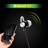 Bruit actif annulant dedans - l'écouteur d'oreille avec la fonction sans fil de Bluetooth