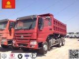 HOWO Sinotruk Diesel 336CV 6X4 la descarga/Camión volquete