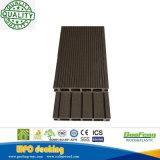 Декоративный напольный Recyclable огнезащитный деревянный пластичный составной Decking