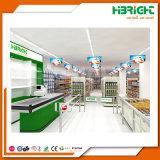 レイアウトデザインのスーパーマーケット装置