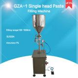 Goma vertical del pistón y máquina de rellenar del líquido (GZA-1)