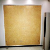 De Natuurlijke Zijde Wallcovering van het Behang van de Katoenen DIY Vezel van de Vezel Houten Vloeibare