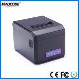 POS van de Desktop Printer van uitstekende kwaliteit 80mm USB/LAN/RS232, de Facultatieve Printer van het Ontvangstbewijs Bluetooth en WiFi, Thermische Printer Mj hop-E801