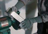 Длинный палец манжеты оболочку из натуральной кожи для рук Anti-Cut рабочие перчатки