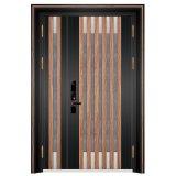 別荘リゾートの建物のための贅沢なドアの細工した鋼鉄防犯ゲート