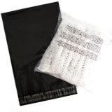 poli sacchetti impaccanti del corriere del sacchetto di plastica nero del bollettino 12*15inch