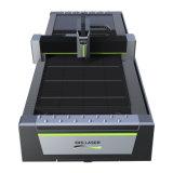 Feuille métallique de haute énergie d'Eks traitant la machine de découpage de laser de fibre de commande numérique par ordinateur