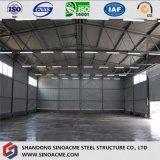 Magazzino chiaro galvanizzato fornitore della pianta di fabbrica della struttura d'acciaio della Cina