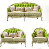 Hölzernes Gewebe-Sofa für Wohnzimmer-Möbel (603)