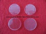 Baibo 프로세스에 의하여 주문을 받아서 만들어지는 석영 메시 체판 또는 석영 유리 관통되는 마이크로 구멍 0.1mm