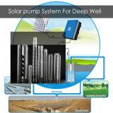 pompa ad acqua a più stadi solare dell'acciaio inossidabile del sistema di pompaggio di 2.2kw 5kw 7.5kw per il pozzo profondo
