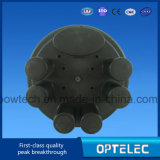 Tampão-Tipo caixa plástica de Oint do fechamento da tala da fibra óptica