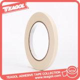 cinta adhesiva adhesiva del redondo de papel de Crepe de la cinta de 15m m