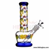 Câmara de ar do favo de mel de Waterpipe da taça do Showerhead a multi recicl a tubulação de vidro de fumo