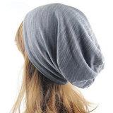 カスタムロゴの軽量の帽子の綿のジャージーの二重層の冬の帽子