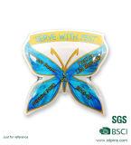 Рекламировать Epoxy значки с муфтой бабочки для промотирования