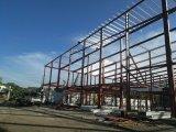 Edificio comercial prefabricado de la estructura de acero para el supermercado
