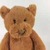 Stuk speelgoed van de Pluche van de Jonge geitjes van de Baai van de Teddybeer van Kerstmis van de Knuffel van de douane het Zachte Gevulde Dierlijke