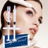 Enchimento não animal 1ml do ácido hialurónico da ligação transversal para a face