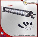 8inch 50W scelgono la barra chiara LED dell'automobile automatica di riga per 4X4 fuori strada, IP67, Rhos