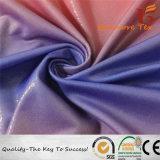 tessuto lavorato a maglia 95%Polyester5%Spandex con il trattamento di doratura per il costume da bagno