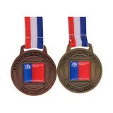 Commerce de gros de haute qualité le moins cher en alliage de zinc métal Médaille personnalisé