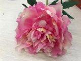 실크 꽃 당 결혼식 홈을%s 인공적인 작약 가짜 잎
