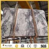 自然なWhiteおよびBlack Marble、イタリアWhite Ice Jade Marble