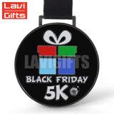 Comercio al por mayor baratos personalizados de buena calidad de la medalla de lacrosse