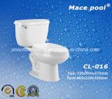 Toletta a due pezzi di ceramica popolare per il servizio dell'Africa (DL-005)