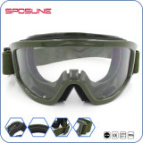 Protección de ojo balística de los vidrios tácticos del Shooting de los anteojos de Airsoft del golpe violento del Anti-Punto negro