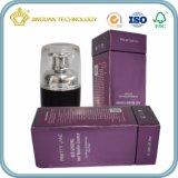 Rectángulo de papel poner crema púrpura mate de Skincare (rectángulo del esencial para el cosmético)