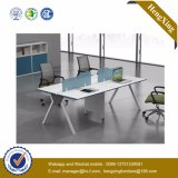 vector del ordenador del personal del MDF de los muebles de la oficina conceptora de la manera del 1.4m (UL-NM036)