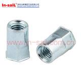 Rivets en aluminium à tête bombée d'abat-jour