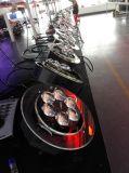 Iluminação do disco da esfera do diodo emissor de luz dos olhos RGBW do produto novo 6