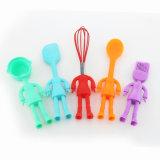 Цветастый смешной по-разному комплект инструментов выпечки силикона качества еды форм