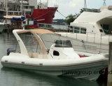 Vente de luxe approuvée de bateau de côte de cabine de bateau de la CE de Liya 8.3meter