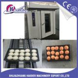 Oven van het Rek van het Gebruik van het Brood van de bakkerij de Roterende met Rek en Riello de Apparatuur van de Brander